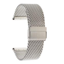 Браслет-сетка 10-20SI сталь