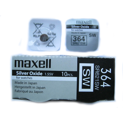 Элемент питания 364 (SR 621 SW) 1.5V Maxell