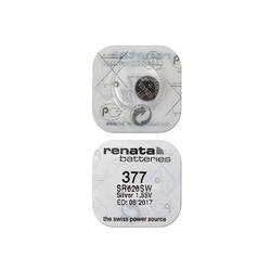 Элемент питания 377 (SR 626 SW) 1.5V Renata