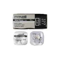Элемент питания 377 (SR 626 SW) 1.5V Maxell